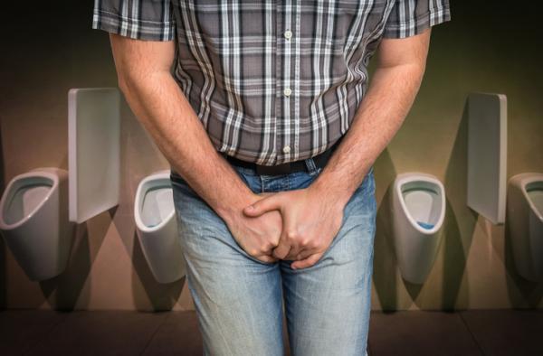 prostatitis y no orinar espeso