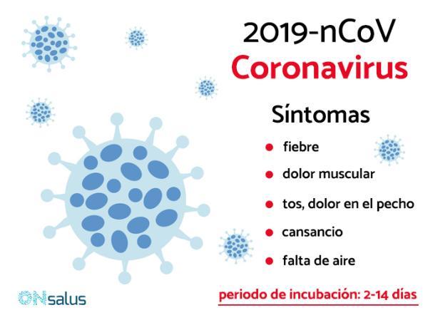 Cómo se contagia el coronavirus y cómo prevenirlo - Síntomas del coronavirus