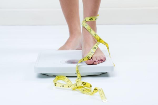 Por qué no me baja la regla si no estoy embarazada - Bajo peso