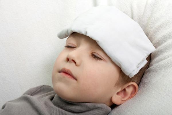 Síntomas de influenza en niños
