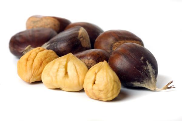 Lista de frutos secos que menos engordan - Castañas, excelente para controlar el hambre