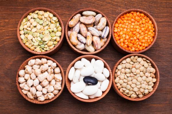 Alimentos que no debo comer durante la lactancia - Vegetales y leguminosas