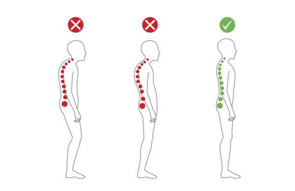 Dolor de espalda a la altura de los pulmones: causas y tratamiento - Mala postura