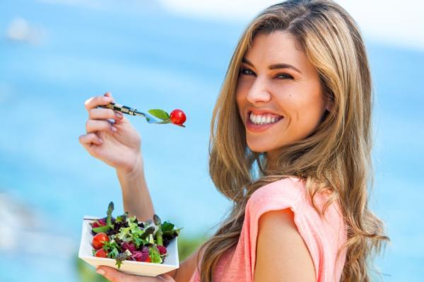 Los alimentos con menos grasa