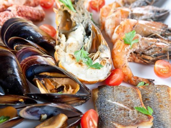 Alimentos malos para el colesterol - Mariscos