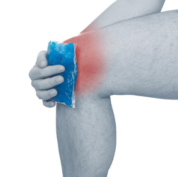 Remedios caseros para la rodilla inflamada - Bajar inflamación de rodilla rápido con frío