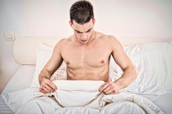 Manchas blancas en el pene: causas