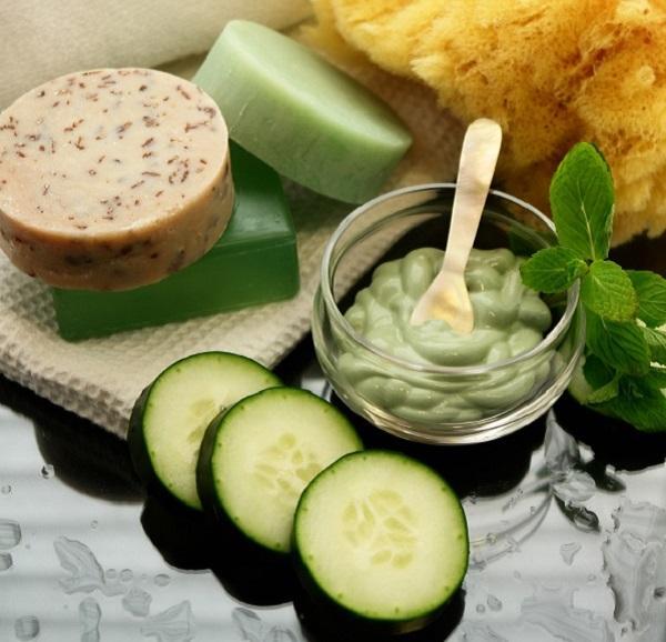 Mascarilla de pepino casera para el acné - Mascarilla de pepino y yogur