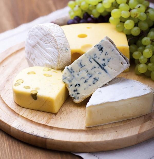 Alimentos que blanquean los dientes - Los quesos