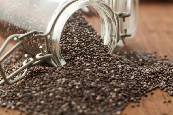 Beneficios de las semillas de chía - Alta en fibra