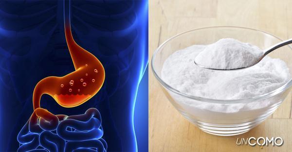 Remedios caseros para el reflujo en la garganta - Cómo quitar el reflujo gástrico rápido: bicarbonato de sodio