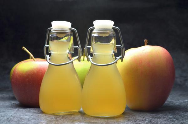 Vinagre de manzana, antimicótico natural