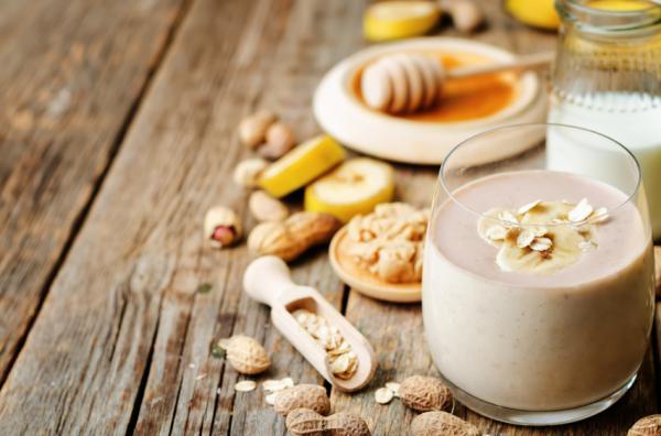 Remedios naturales para el bazo inflamado - Licuado de avena y manzana