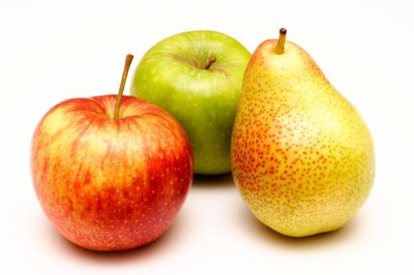 Frutas que contienen hierro para la anemia - Manzanas y peras, contienen hierro contra la anemia
