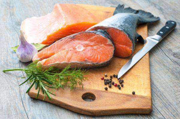 Alimentos ricos en vitamina B5 - Pescado, ideal para las deficiencias de vitamina B5