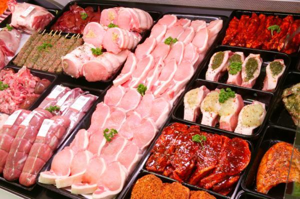Alimentos con glutamina - lista muy completa - Carnes, el alimento más rico en glutamina