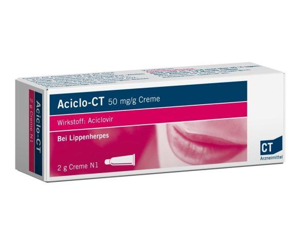 Aciclovir crema: para qué sirve, composición y efectos secundarios