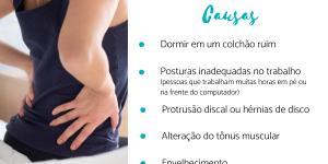 Dor na lombar ao deitar: causas e soluções