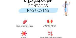 Pontadas nas costas: causas e tratamento