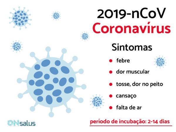 Coronavírus (2019-nCoV): sintomas, contágio e tratamento - Sintomas de coronavírus