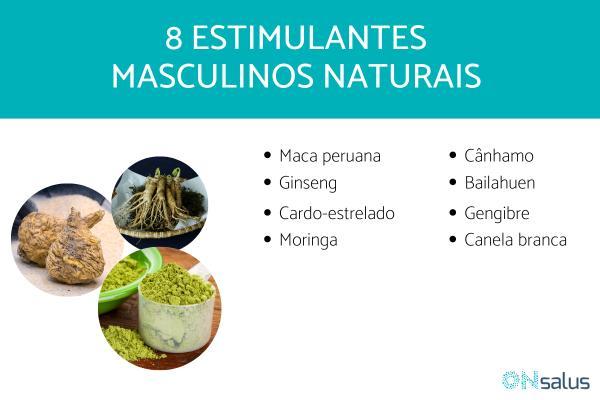 Estimulantes masculinos naturais