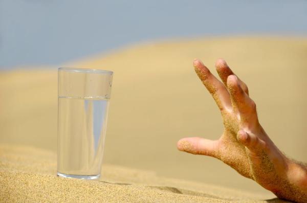 Dedo polegar mexendo sozinho: causas - Movimento involuntário do dedo polegar: desidratação