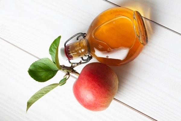Remédios para varizes nas pernas - Vinagre de maçã